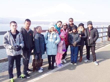 ครอบครัวคุณโอ๋พัชรี @ คุณกุ้ง เที่ยวญี่ปุ่น
